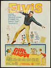 ELVIS PRESLEY - GIRL HAPPY - HIGH QUALITY VINTAGE MOVIE/MUSIC POSTER