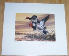 1987 Montana Duck Stamp Press Proof - Signed