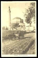 Albania Valona Italia posta militare postcard 1775 SZI