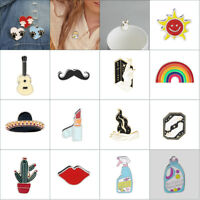 Women Costume Brooches Pin Jewelry Decor Brooch Pin Shirt Collar Lapel Pins Gift