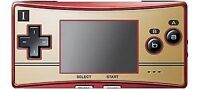 Nintendo Game Boy Micro Famicom Console - Red/Gold