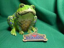 Jim Shore Frog Candle Holder