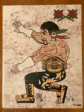 Eddie guerrero Art Print Signed By Artist
