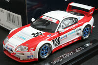 Ebbro 43832 1:43 Toyota TRD Denso Sard Supra JGTC 1995 Die Cast Model Racing Car