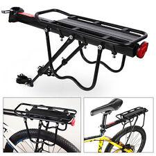 Fahrrad Alu Gepäckträger geeignet für Mountainbike MTB Sattelstütze Verstellbar