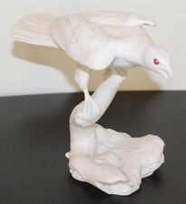 Silent Hunter by Jonathan Bronson Porcelain Sculpture Franklin Mint 1985   (used