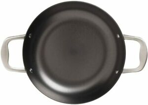 Stanley Roges Frying Pan Steak Induction Round Grill Cooks Pan Cast Iron 30cm