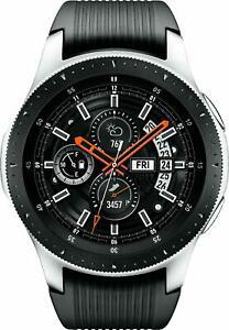 Samsung  Galaxy Watch Smartwatch (46mm) SM-R800 Stainless Steel - Very Good