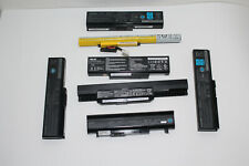 Lot of 7 Mixed Laptop Batteries (3) Asus & (4) Toshiba For Parts Only