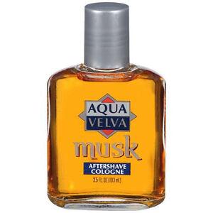 Aqua Velva After Shave Lotion, Cologne Musk - 3.5 Oz