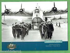 AUSTRALIA & BRITAIN WWI - WWII  2004  CALENDAR