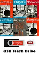 HUGE Electronics Magazine Collection (919 PDF Magazines on USB Drive) 1930-1995