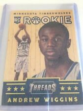 Panini Rookie Andrew Wiggins Basketball Trading Cards