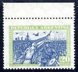 Argentina 1930 20 Pesos Of Revolución Set, Mint NH