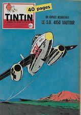 JOURNAL DE TINTIN N° 537 FEV. 1959 - SUPERBE COUVERTURE PHIL DAMBLY