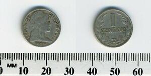 Colombia 1935 (P) - 1 Centavo Copper-Nickel Coin - Liberty head right