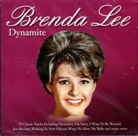 BRENDA LEE ~ DYNAMITE  NEW & SEALED CD  Best Of / Hits, I'm Sorry Sweet Nothin's