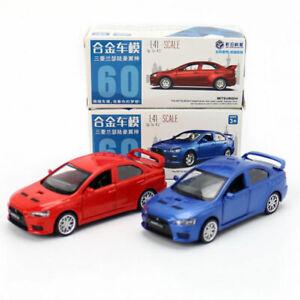 1/41 Mitsubishi Lancer Evolution X Model Car Diecast Toy Vehicle Pull Back Gift