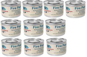10 Dosen Brennpaste Brenngel für Chafing-Dish Speisewärmer