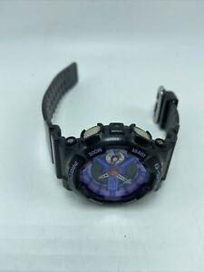 Casio G Shock Resist Women's #5425 Black Lavender & Blue Face