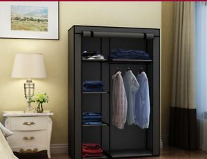 Fashionable Simple Solid Color Non-Woven Fabric Combination Foldable Wardrobe