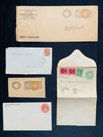 Canada Postal History Odd Lot - Postage Due, Mint Envelope, Old Cover Cut Square