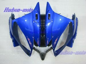 Front Nose Cowl Upper Fairing For Yamaha YZF R6 2006-2007 YZFR6 06-07 Blue