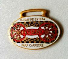 FESTARY (Kettenfahrzeug Fahrzeugketten) Abzeichen Chattelin emailliert 1920er J.