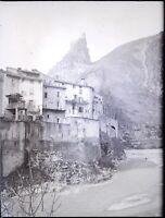 Francia Alpes Marittimo Touët-sur-var Beuil ,Negativo Foto Placca Lente VR6L1n10