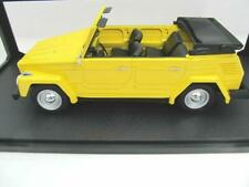 + VOLKSWAGEN VW 181 Kübel von Cult in 1:18  gelb NEU CML026 mein Letzter !!!