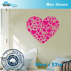Wall Stickers Removable Sweet Heart Girl Living Room Decal Picture Art Decor