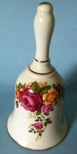 Cottage Wood & Sons Enoch Rose Bell Roses Bone China White Nice
