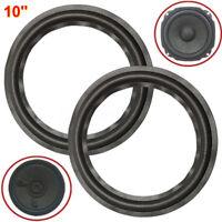 "10"" Stereo Woofer/ Bass Loudspeaker/ Speaker Parts Rubber Surrounds Repair"