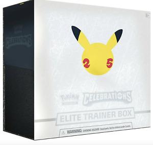 Preorder - Pokemon TCG Celebrations Elite Trainer Box 25th Anniversary