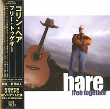 COLIN HARE-FREE TOGETHER-JAPAN Ltd Ed ISSUE MINI LP CD Fi56