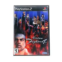 Virtua Fighter 4 (Sony PlayStation, PS2) CIB Complete w/ Manual Tested & Working