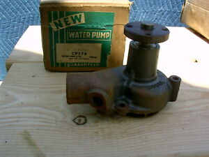1960 1961 1962 FORD FALCON  1960 61 62 MERCY COMET 6 CYLINDER WATER PUMP FD 8-19