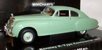 Minichamps 1/43 scale 436 139424 Bentley R-type Continental 1955 green