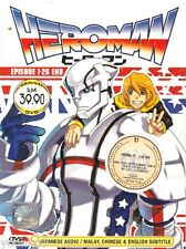 DVD Anime Heroman Complete TV Series 1-26 End English Subtitle REgion All BoxSet