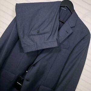 Emporio Armani G Line Super 130's Charcoal 2pc. Suit Men's Size US 44R/W40