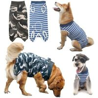 Dog Recovery Suit Cat Abdominal Wound Protector Puppy Medical Surgical Cloth