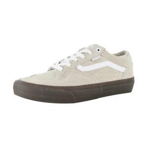 "Vans Off The Wall ""Rowan Pro"" Sneakers (Oatmeal/Gum) Skate Shoes"