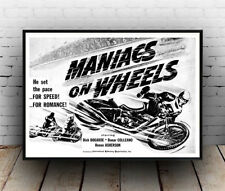 Maniacs on Wheels: Film Poster reproduction