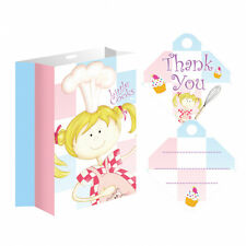 Little Cooks Bake Off Party Bags PK 8  Free First Class Postage