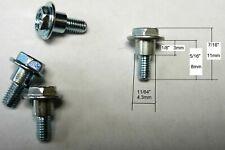 4 Shoulder Screws M3 8mm Dell Optiplex CDROM DVD mount,fix e-piano hold pedal