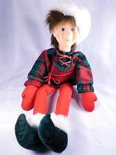 "Vintage JIMMINE Christmas Doll Shelf Sitter Large 26"" Tall Doll Emporium Rare"