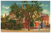 Savannah Georgia Postcard Panoramic View Of Hotel De Soto #83155