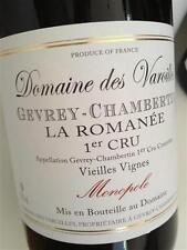 """3 BT. GEVREY CHAMBERTIN 1ER CRU """" LA ROMANEE """" 2009 DOMAINE DES VAROILLES"""