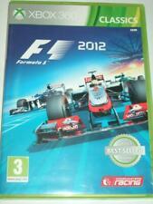 """F1 2012 Formula 1 2012 Xbox 360"""" """"P & P libre de Reino Unido"""