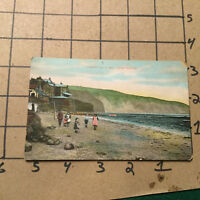 vintage postcard -- ROBIN HOOD BAY, near Whitby -- unused